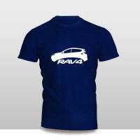 Kaos Baju Pakaian MOBIL TOYOTA RAV4 SILUET Murah