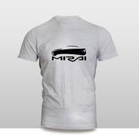 Kaos Baju Pakaian MOBIL TOYOTA MIRAI SILUET Murah