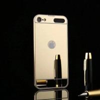 iPod Touch 5 6 Metal Bumper Mirror Hard Back Cover Casing Case Mewah