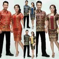 Jual batik couple blus rok/seragam/sarimbit/jumbo Murah