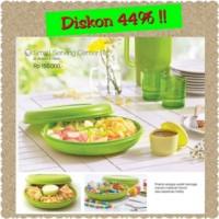 harga Small Serving Center Tupperware Wadah Saji Blossom Hijau Limited Tokopedia.com