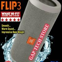 harga JBL FLIP 3 - Splashproof Portable Wireless Bluetooth Speaker (Grey) Tokopedia.com
