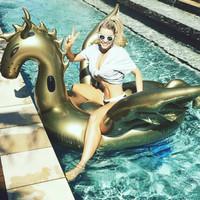 harga Giant Gold Dragon Float Pelampung Naga Emas Ban Murah Floaties Tokopedia.com