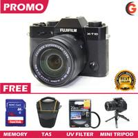Fujifilm Mirrorless X-T10 PROMO PAKET LENGKAP