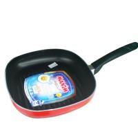 Wajan / Alat Panggangan / Pemanggangan Teflon 26cm Square Grill Maxim