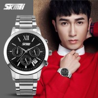 Jual Jam Tangan Pria Original SKMEI Casio Men Sport LED Waterproof Murah