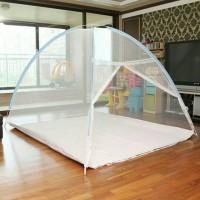 Jual Kelambu Lipat 180 x 200 Bentuk Canopy Praktis Kuat Nyamuk Pun Minggat Murah