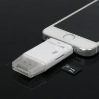 harga External Storage for Iphone i-FlashDrive USB External Microsd TF Card Tokopedia.com