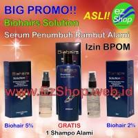 Paket Biohair ( Biohairs ) Solution ( Solutions ) Free Shampo