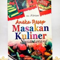 Buku Aneka Resep Masakan Kuliner Nusantara