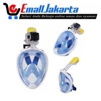 Alat Selam Kacamata Snorkel / Scuba Diving / Snorkling Mask Full Face