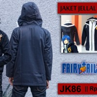 harga jaket anime fairy tail jellal (heartlesshop) Tokopedia.com