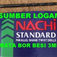 harga Mata Bor Besi 3 mm HSS - NACHI Tokopedia.com