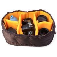 LF381. Case Cover Waterproof DSLR SLR Camera Lens Insert Partition