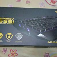 Keyboard Gaming Armageddon Ak555i / Red / Blue / Anti Ghosting