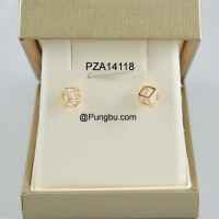 Anting emas kubus PZA14118