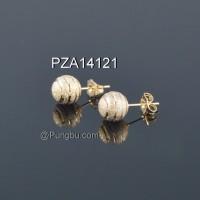 Anting emas tusuk bola2 PZA14121
