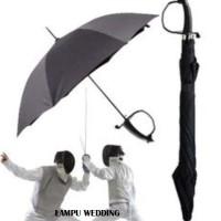 Payung Pedang Anggar Fencing Umbrella Payung Fashion Vintage Aksesoris