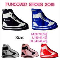 Cover Shoes FunCover Model Year 2016, Jas Hujan Untuk Sepatu
