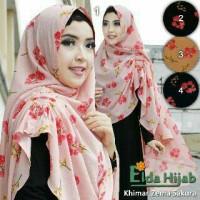 Khimar Zema Sakura By Ori Elda Hijab / Jilbab Khimar