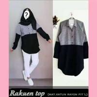 RAKUEN TOP / BAJU MUSLIM HIJAB FASHION