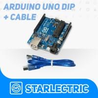Arduino Uno R3 ATMega328P DIP Clone + USB Cable