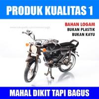 Miniatur Motor Honda CB Klasik Kualitas 1
