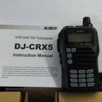 Baru Radio Komunikasi Ht Handy Talky Alinco Dj Crx 5