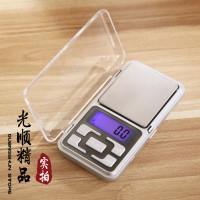 Jual Timbangan Emas Akik Digital / Mini Portable Digital Scale 0.1g X 500g Murah