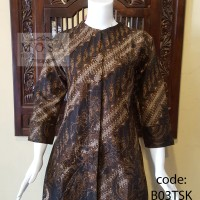 harga Blus Batik Tricot Lengan 7/8, motif Seno Keris Batik Pekalongan Tokopedia.com