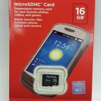 SANDISK ULTRA MICRO SD 16GB CLASS 4 ORIGINAL || Memory Card