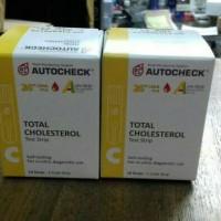 Strip Auto Check Cholestrol iai 10 strip