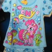 harga baju stelan my little pony Tokopedia.com