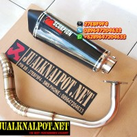 Knalpot Matic (beat,mio,fino,soul, Xeon, X-ride,beat,vario) Scorpion