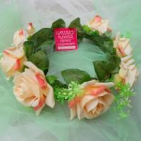 Jual Peach Blossoms Flowercrown / Flower Crown Murah