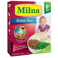 Harga milna bubur bayi 6 bln cah daging kacang | WIKIPRICE INDONESIA