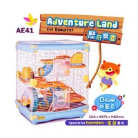 Kandang Hamster / Alice Adventure Land Blue  AE41