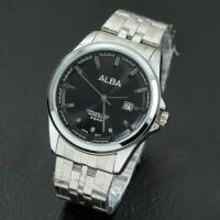 harga jam tangan cowok / pria alba ( swiss army rolex alexandre christie Tokopedia.com