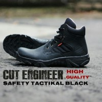 Sepatu Boots/casual/pria Cut Engineer Tactical Safety