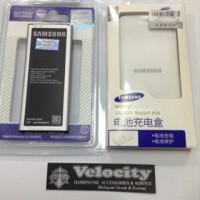 Jual Baterai batere Original Samsung Note 4 + Dekstop charger samsungNote 4 Murah