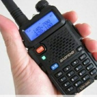 HT Murah Handy Talkie Baofeng BF UV5R Dual Band UHF VHF FM Not Alinco