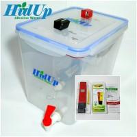 Mesin Air Alkali Kangen Water HidUp 15liter plus pH Meter Digital ATC
