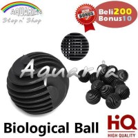 Bioball Bulat 3 cm High Quality Filter Media
