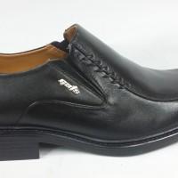"""Sepatu Formal Kulit Gats 100% Jaminan Ori """"kl1105"""" Black"""