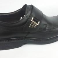 "Sepatu Kerja / Pesta Kulit Gats 100% Ori ""rf8001"" Black"