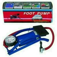 Harga foot pump pompa injak buat buat motor mobil sepeda | antitipu.com