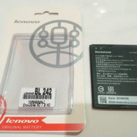 Batre Lenovo A6000 BL242 A6000+ K3 A6000 Plus Baterai Ori