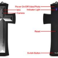 harga Spy camera kalung salib 8GB/kamera kalung 8GB Tokopedia.com
