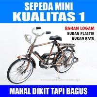 harga Miniatur Sepeda Mini Onthel terkecil - KUALITAS 1 Tokopedia.com