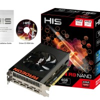 HIS Radeon HD R9 Fury Nano 4GB HBM